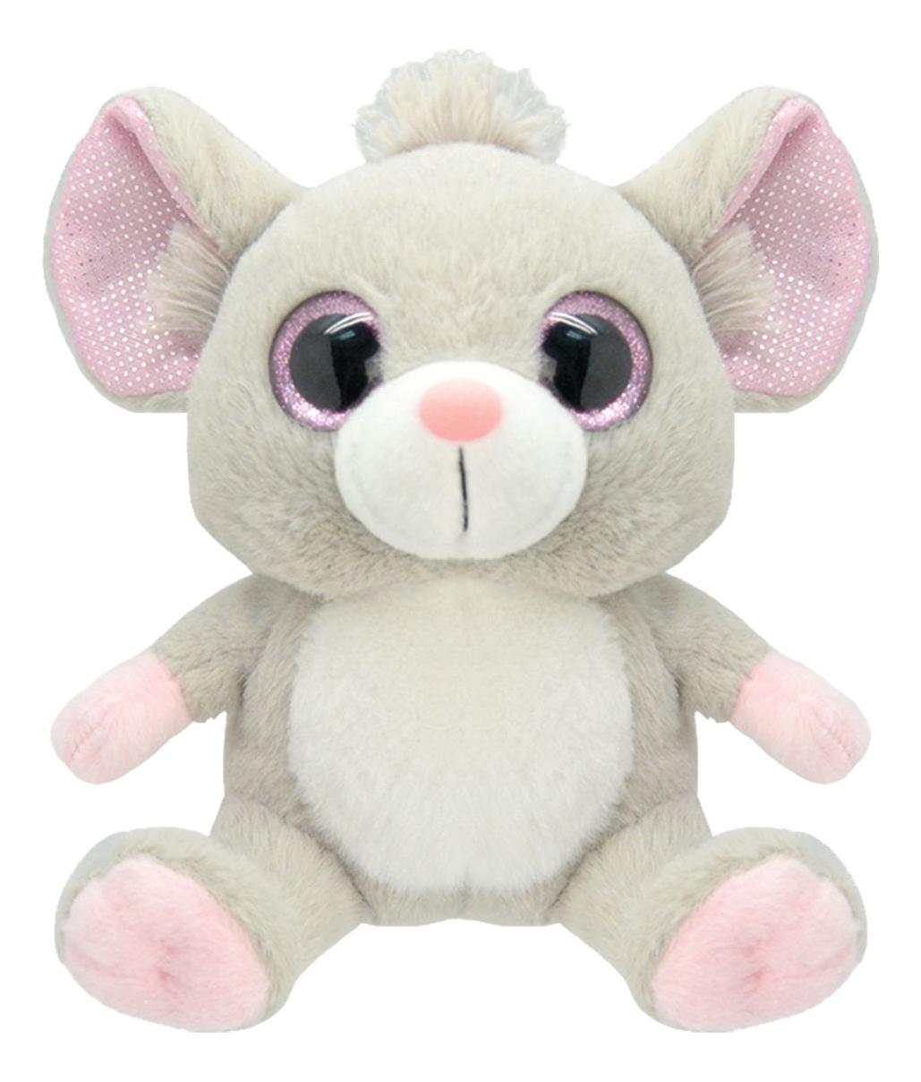Купить Мягкая игрушка Wild Planet Мышка 19 см серый k7863, Мягкие игрушки животные