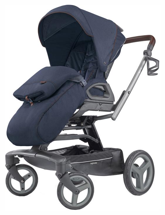 Купить Прогулочная коляска Inglesina Quad Oxford Blue, Коляски книжки