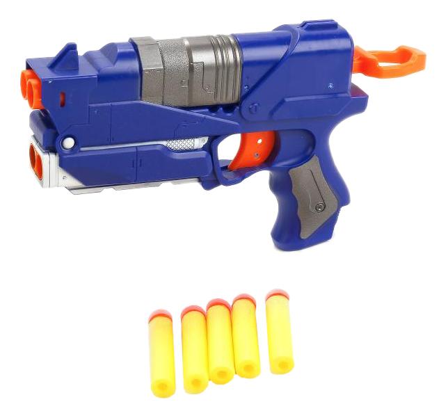 Купить С мягкими пулями, Бластер Играем Вместе с мягкими пулями B1354523-R, Бластеры