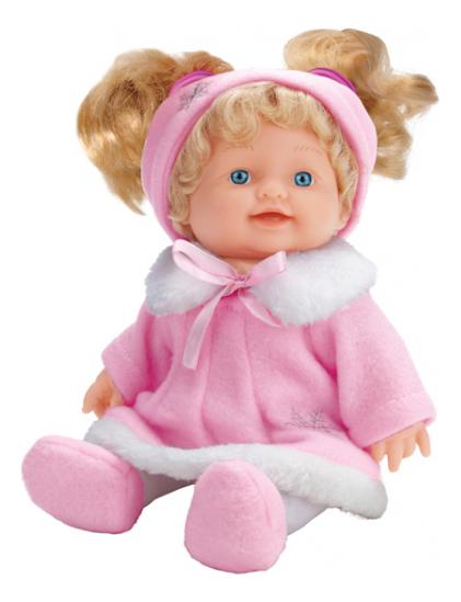 Купить С твердым телом, Кукла 24 см Карапуз smd24509-ru, Интерактивные куклы
