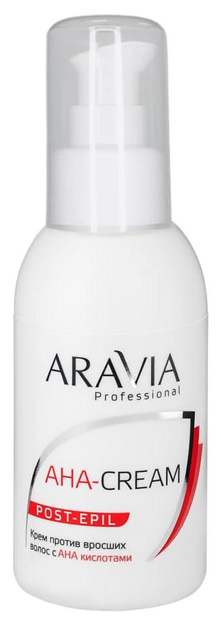 Купить Крем против вросших волос с АНА кислотами Aravia Professional Aha Cream Post Epil 100 мл