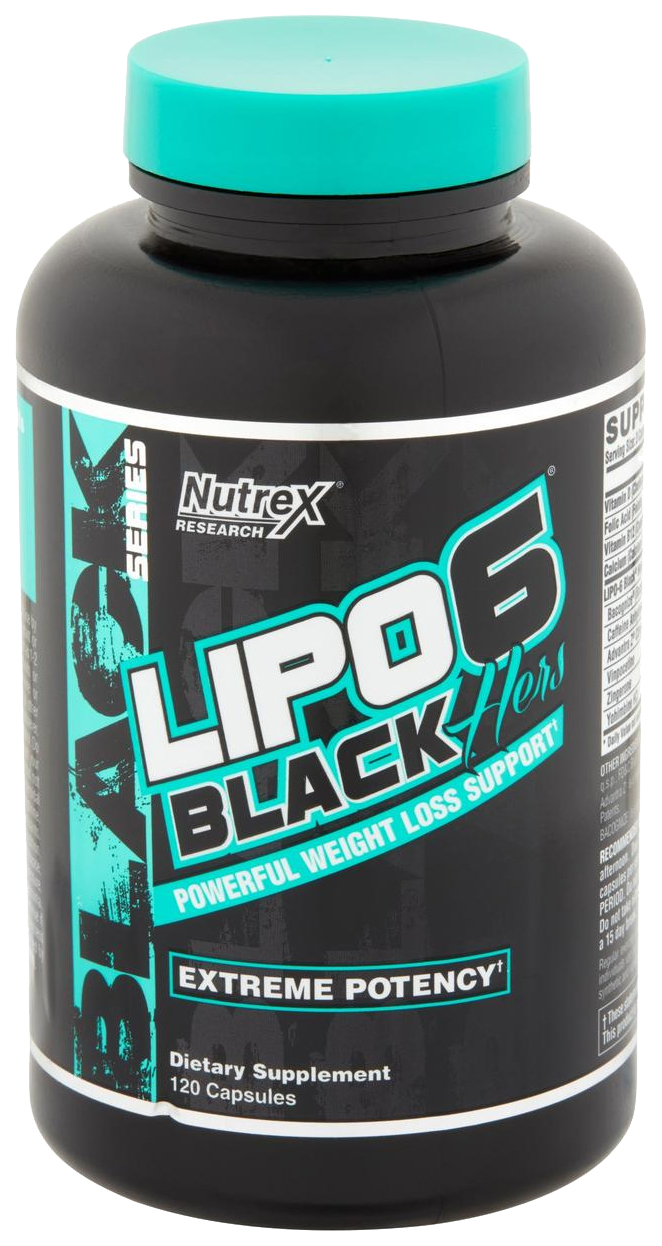 Жиросжигатель Nutrex Lipo 6 Black Hers 120 капс.