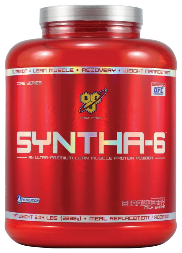Протеин BSN Syntha 6 2290 г клубника