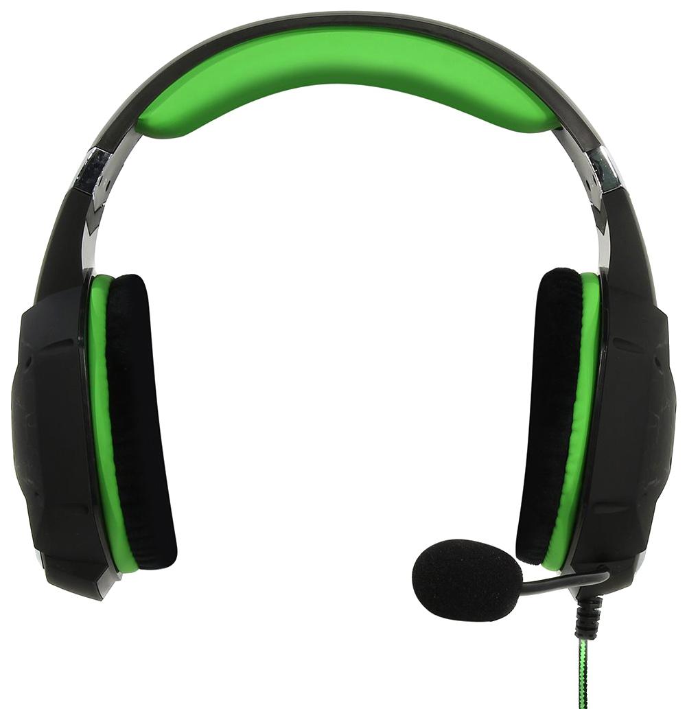 Игровые наушники SmartBuy RUSH TAIPAN SBHG-3100 Green/Black  - купить со скидкой