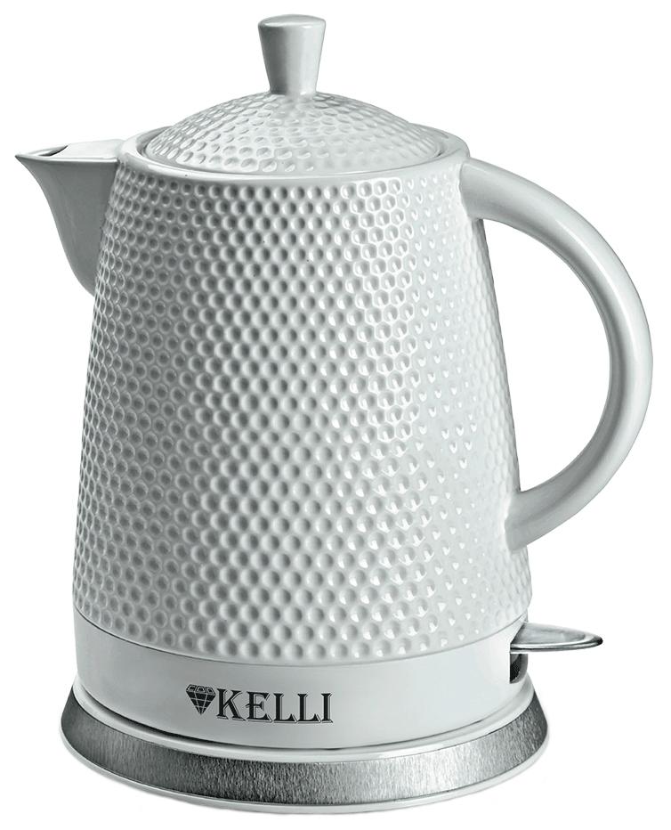 Чайник электрический Kelli KL 1338 White
