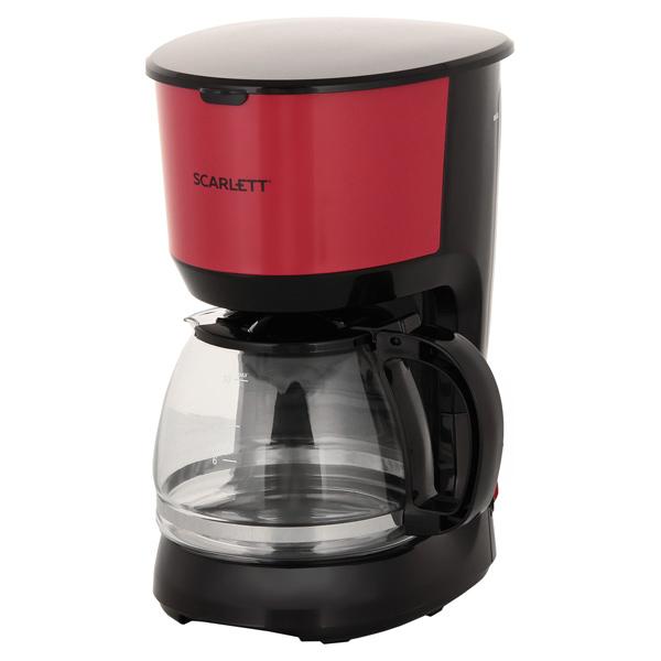 Кофеварка капельного типа Scarlett SC CM33013 Red/Black
