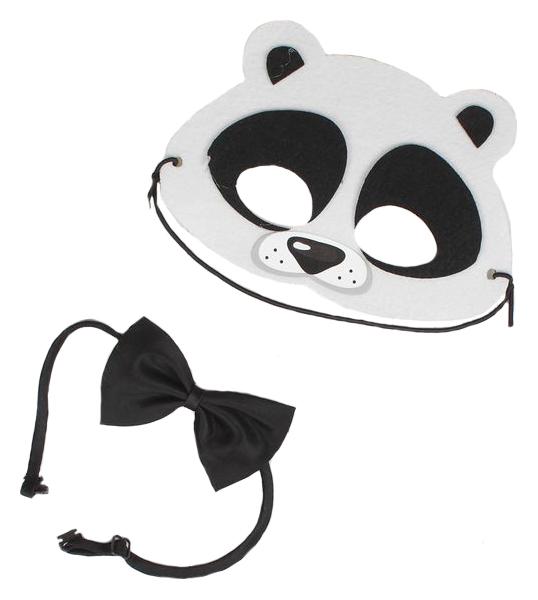 Карнавальный костюм Панда маска, хвостик, бабочка Страна Карнавалия