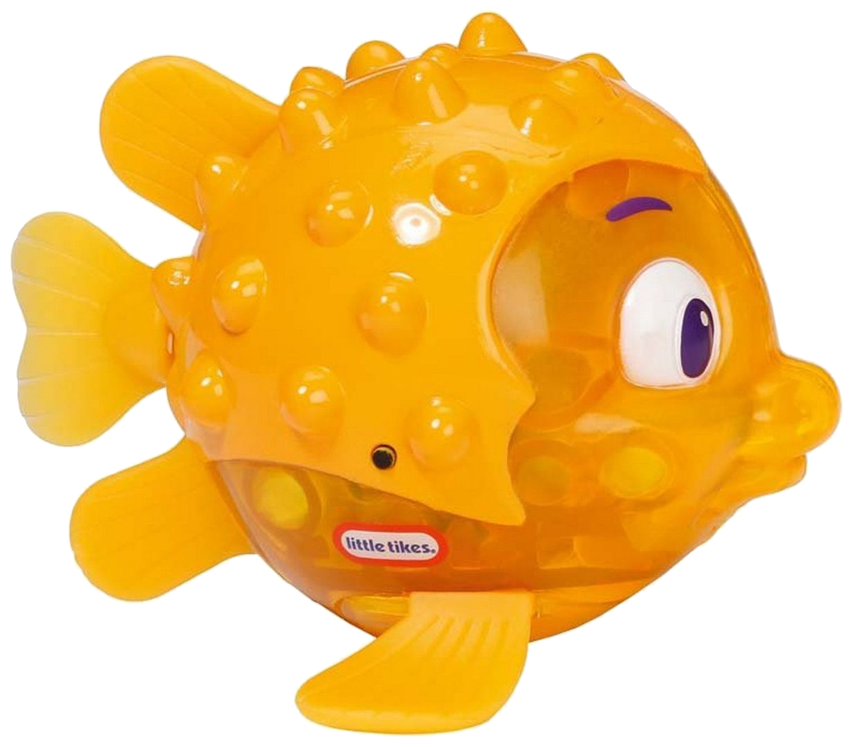 Купить Игрушка для ванны Рыбка Огонек - Иглобрюх (свет) Little Tikes, Игрушки для купания