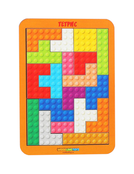 Купить Тетрис малый Лего Woodland (Сибирский сувенир), Развивающие игрушки