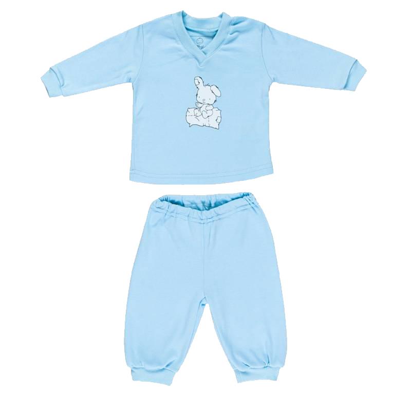 Купить 114-ЛС-Г, Комплект Nice-Kid, цв. голубой, 68 р-р, Комплекты для новорожденных