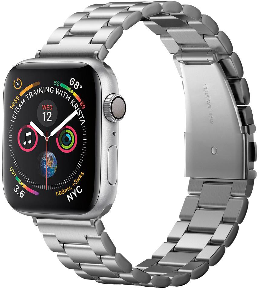 Ремешок Spigen Modern Fit для Apple Watch Series 2/3/4/5 42/44 mm Silver