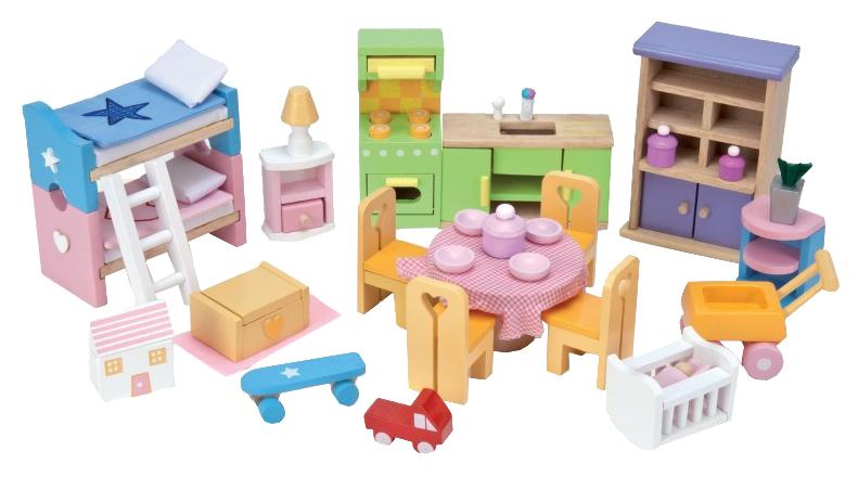 Мебель для кукол Le Toy Van Базовый набор Премиум