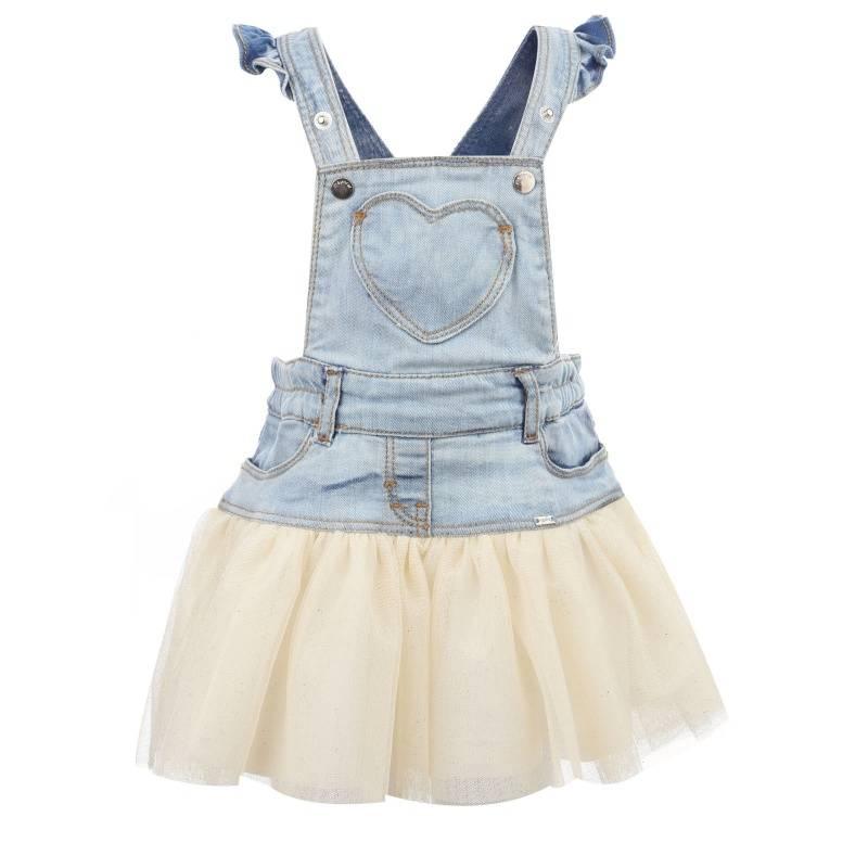 Купить Сарафан MAYORAL, цв. бежевый, 98 р-р, Детские платья и сарафаны