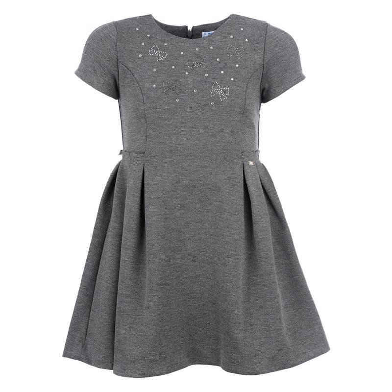 Купить Платье MAYORAL, цв. серый, 122 р-р, Детские платья и сарафаны