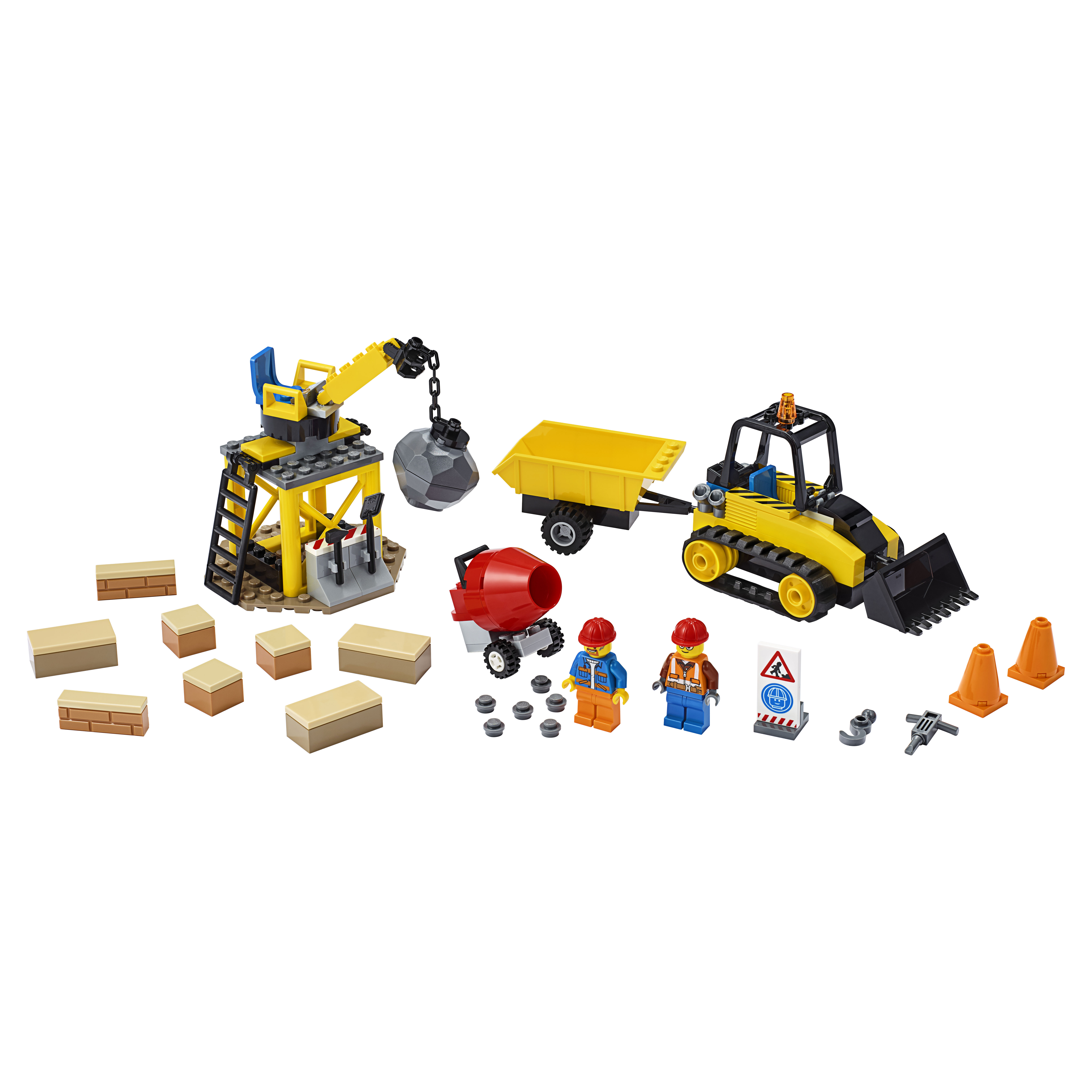 Конструктор LEGO City Great Vehicles 60252 Строительный бульдозер фото