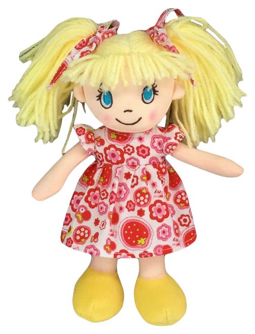 Купить Кукла мягконабивная, 20 см (платье в цветочек), ABtoys, Классические куклы