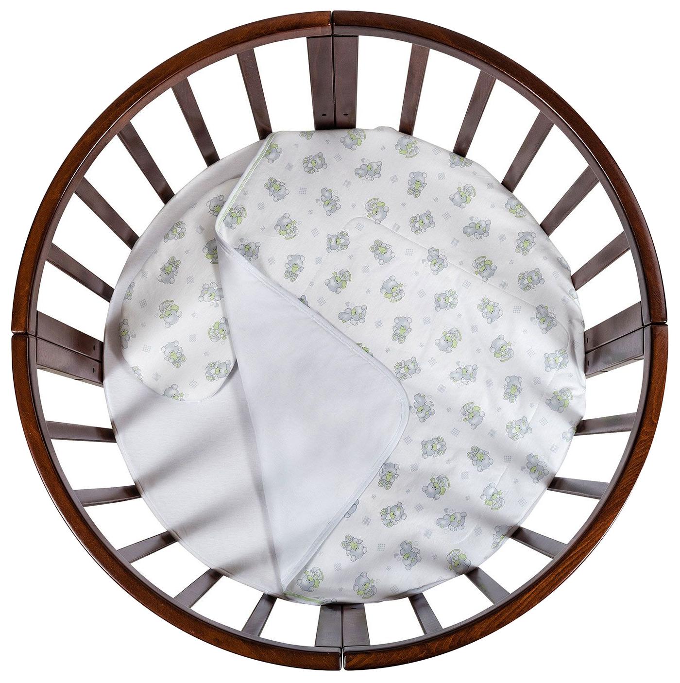 Комплект в люльку Chepe for Nuovita Acchiappasogni Ловец снов 3 предмета, цвет белый