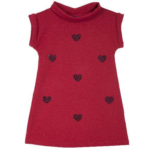Купить 9003569, Платье детское Chicco короткий рукав р. 110 цв.красный,