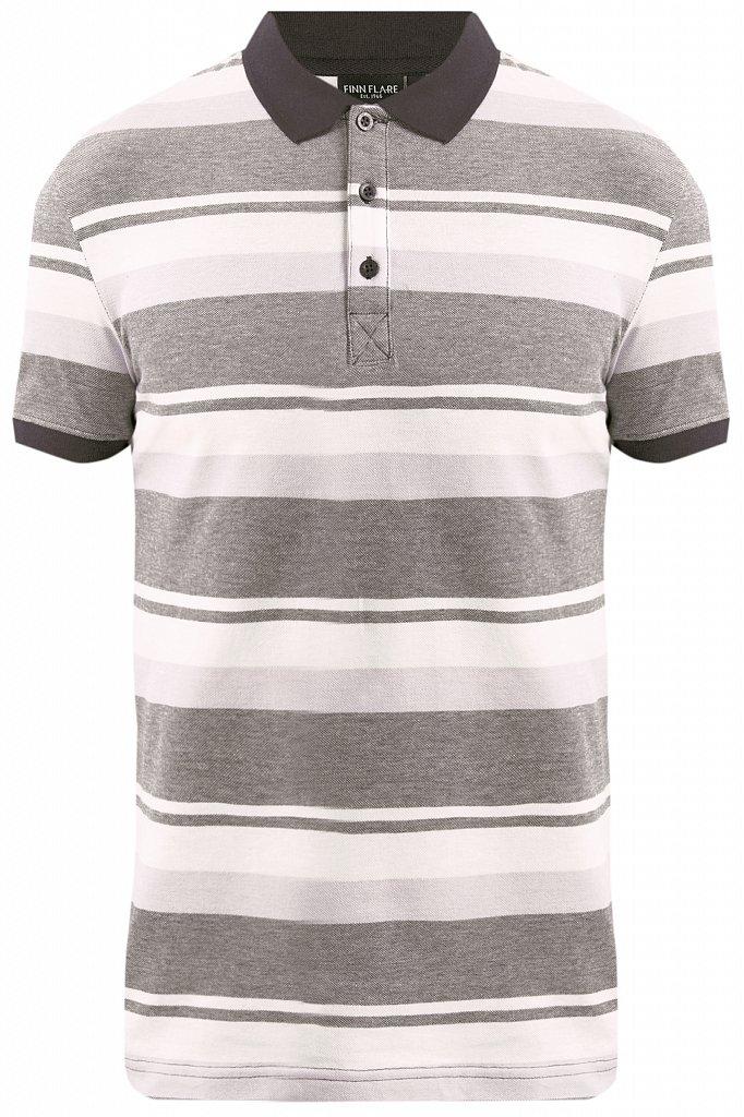 Купить KS19-81010, Футболка Поло для мальчика Finn Flare, цв. черный, р-р. 158, Детские футболки, топы