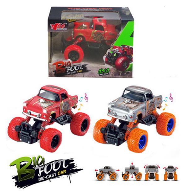 Купить Джип Junfa toys 1:36 инерционный звуковые и световые эффекты 2 вида, Игрушечные машинки