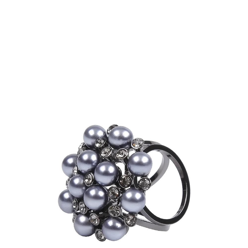 Зажим для платков женский FABRETTI N019-2 серый