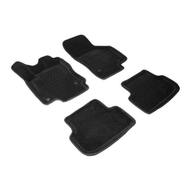 Ворсовые коврики SeiNtex3D для Volkswagen Golf VII 2012- / 83735