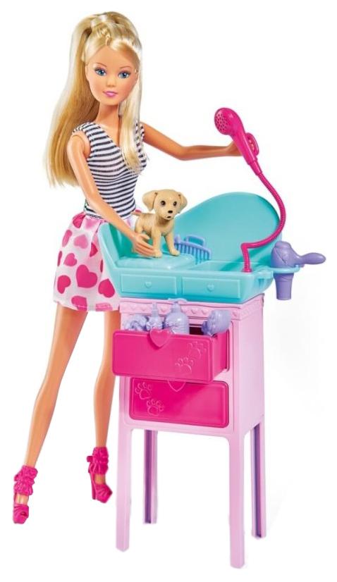 Кукла Simba Штеффи с двумя собачками и столиком