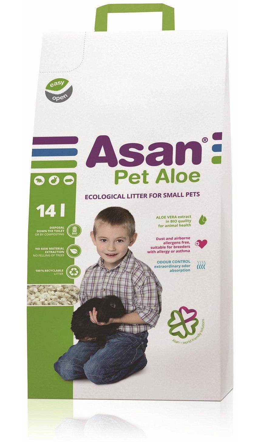 Наполнитель Asan Pet Aloe с алоэ вера