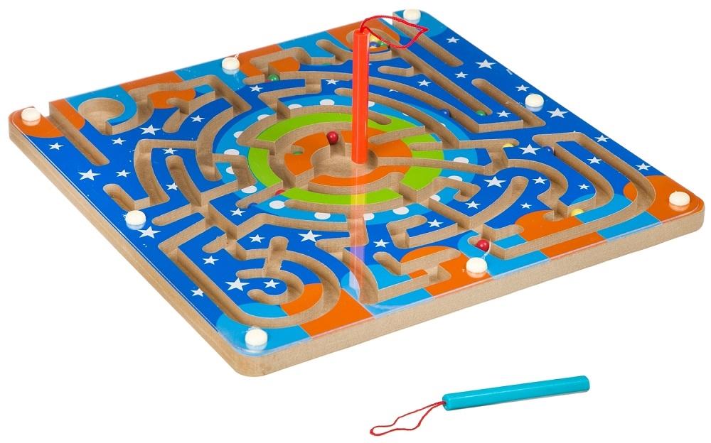 Купить Деревянная развивающая игра Bondibon Магнитный путь, Развивающие игрушки