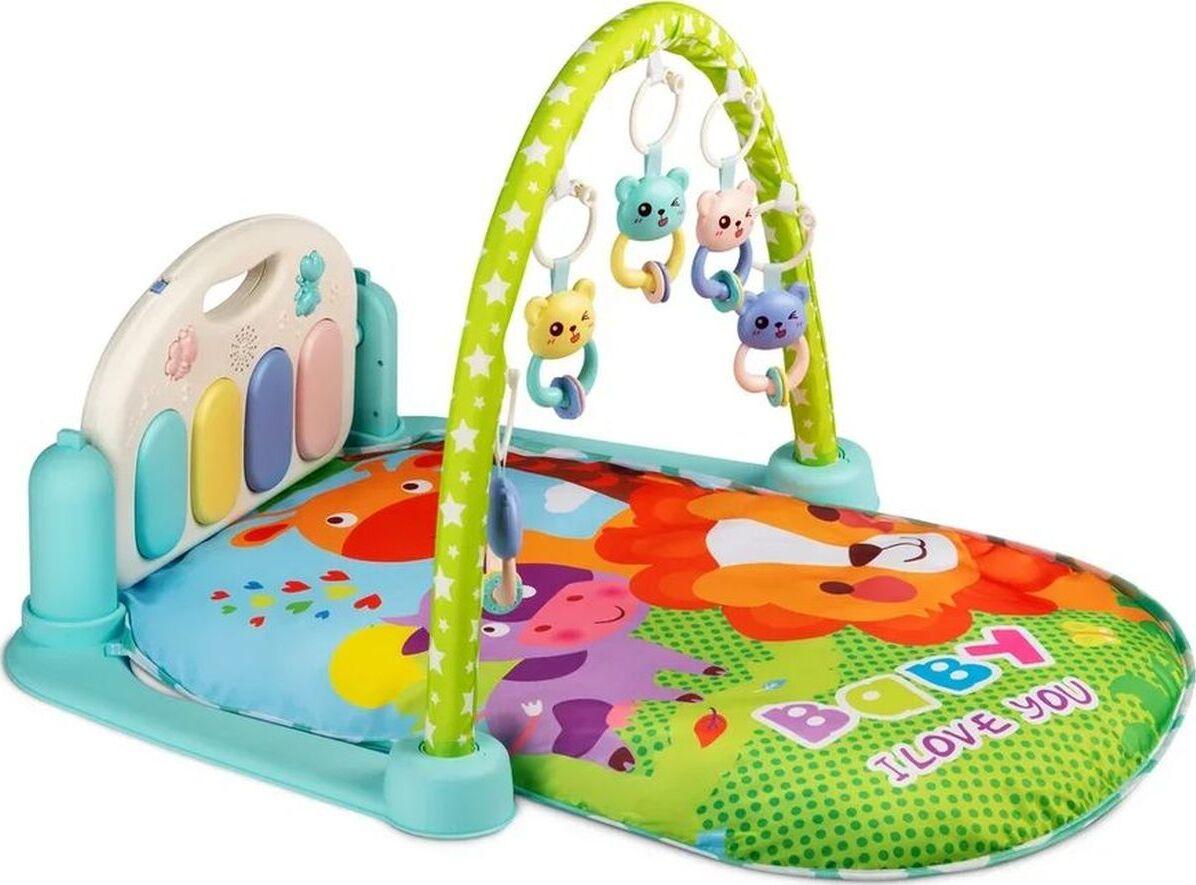 Развивающий коврик для детей AMAROBABY CUTE LION,