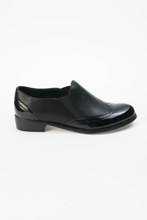 Туфли женские ZENDEN 25-33WB-019ST черные 38 RU фото