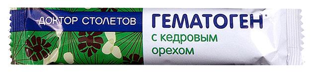 Гематоген с кедровым орехом 40 г