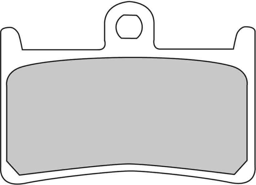 Тормозные колодки передние Ferodo FDB605P для мотоциклов