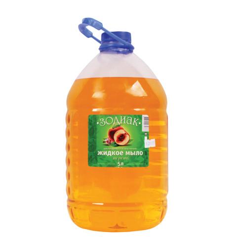 Купить Жидкое мыло Зодиак Персик, прозрачное, 5 л