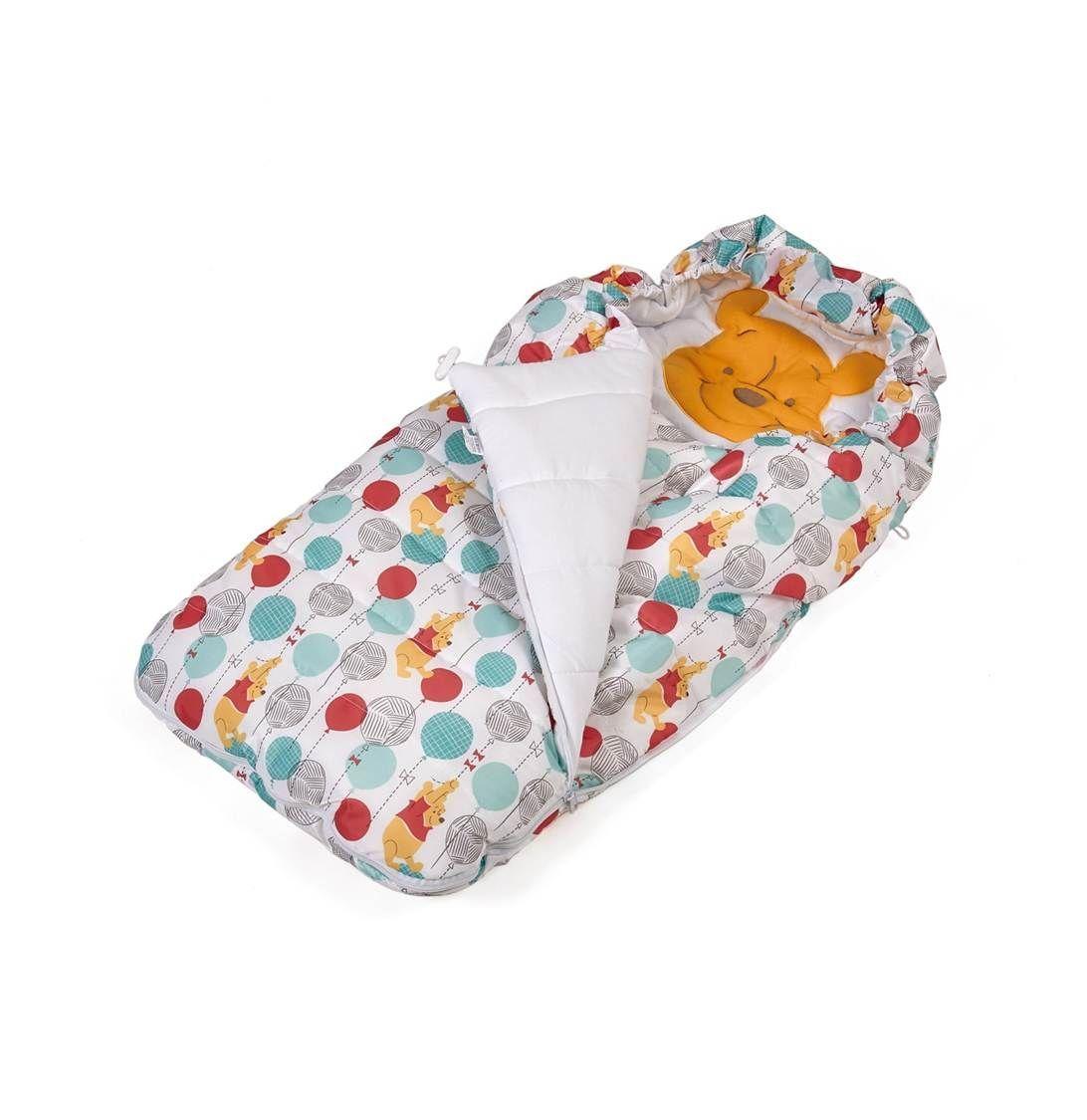 Купить Конверт утепленный Polini kids Disney baby Медвежонок Винни Чудесный день, разноцветный, Комплекты для новорожденных