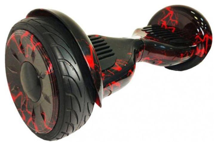 "Гироскутер Smart Balance Carcam 10.5"" Red Lighting"