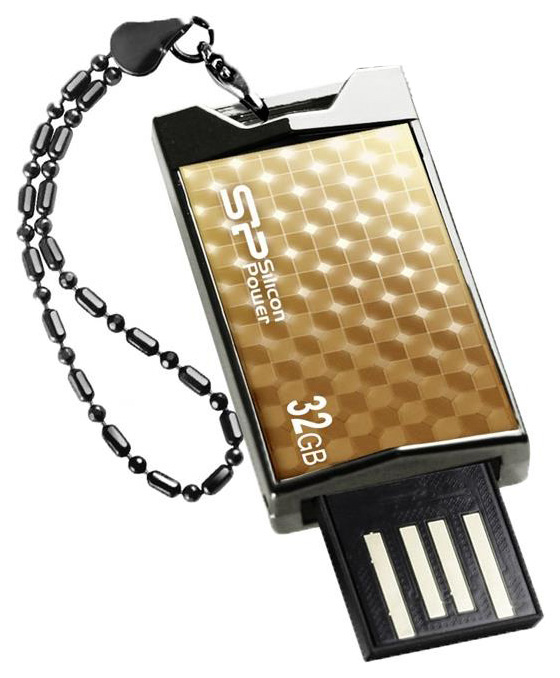 USB-флешка Silicon Power Touch 851 32GB Gold (SP032GBUF2851V1G)