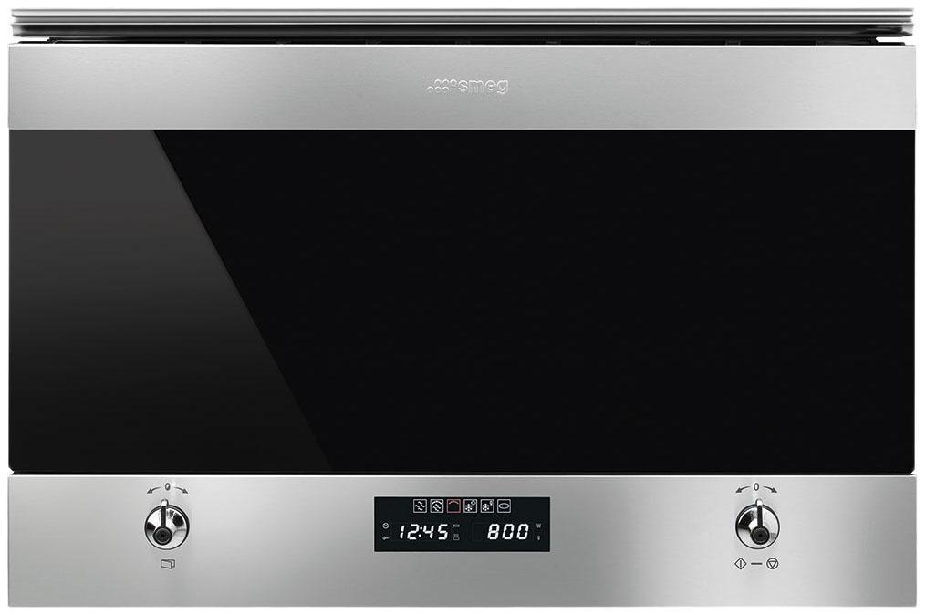 Встраиваемая микроволновая печь с грилем Smeg Classic