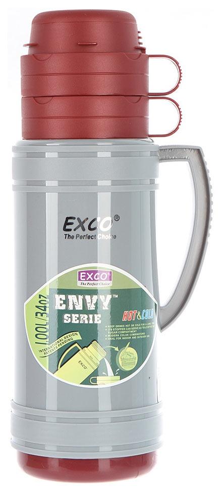 Термос Exco EN100 1 л серый