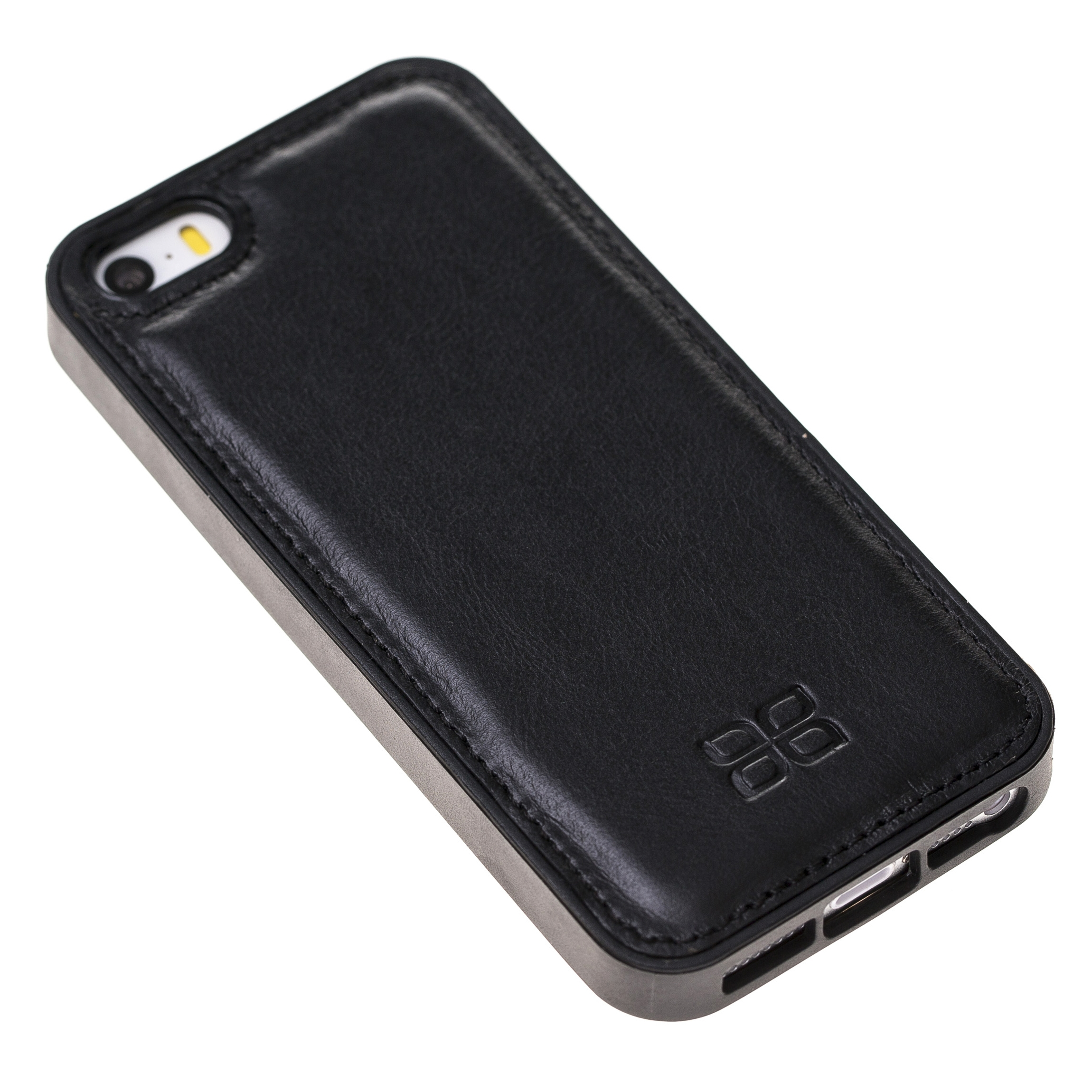 Чехол FlexCover Bouletta Черный RST1 для iPhone 5/5S/SE