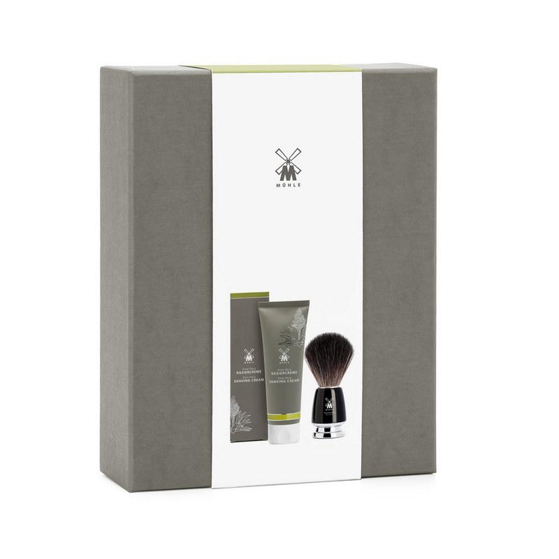 Купить Подарочный набор Muehle крем для бритья Алоэ Вера+черный памазок Rytmo, Starter Set Rasiercreme