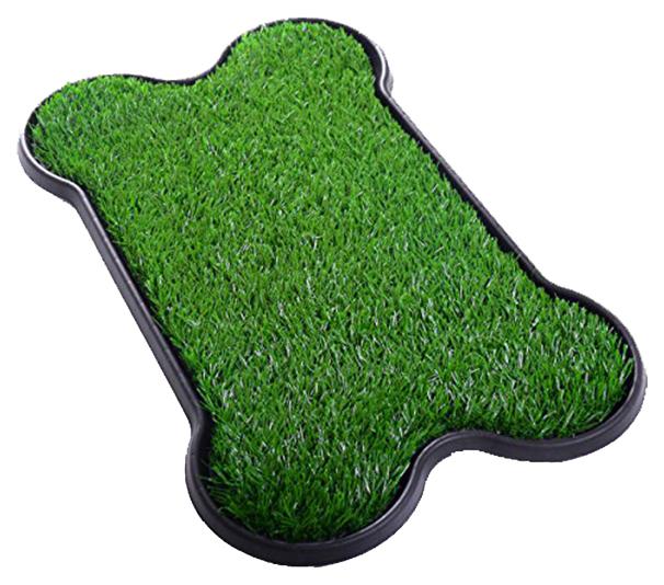 Лоток для собак Pet Potty Bone Shape с искусственной травкой- обзор, преимущества, отзывы. Заказать товар для животных за 2808 руб. Бренд PetZoom