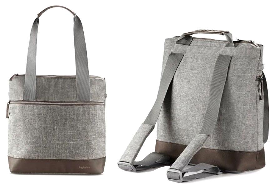 Сумка-рюкзак для коляски Inglesina Back Bag Aptica Grey Melange