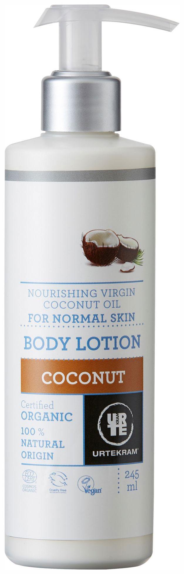Лосьон для тела Urtekram Coconut Body Organic 245 мл