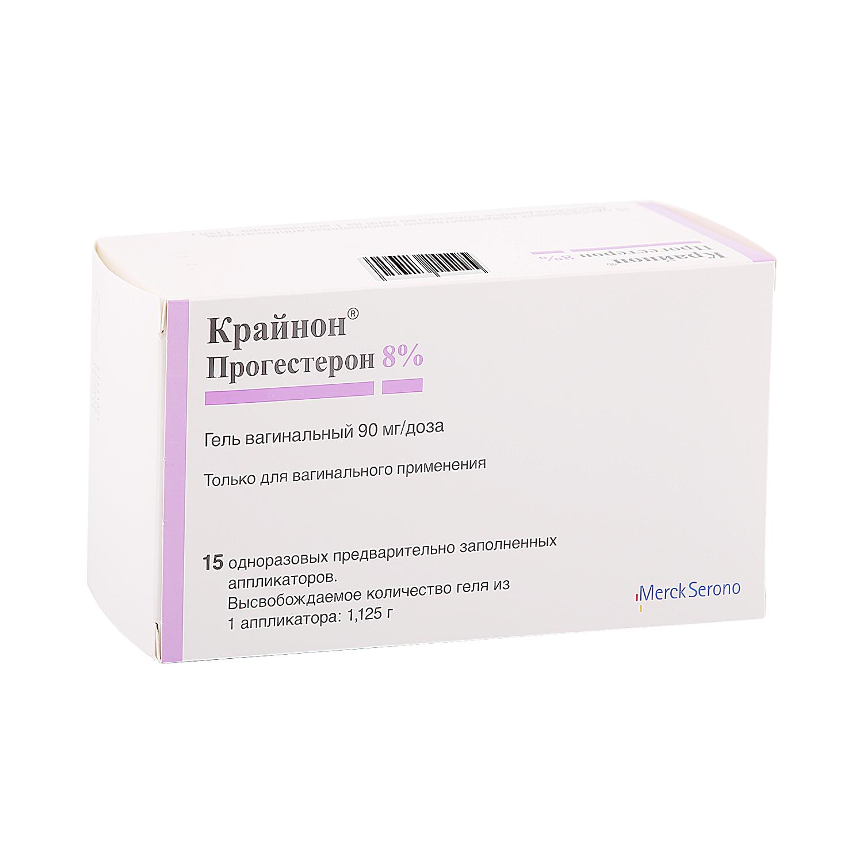 Крайнон гель вагинальный 90 мг/доза 1,125 г 15 шт.