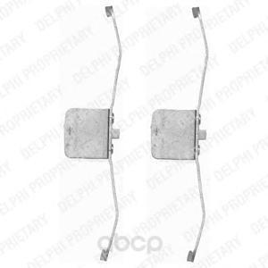 Тормозные колодки дисковые DELPHI LX0395 фото