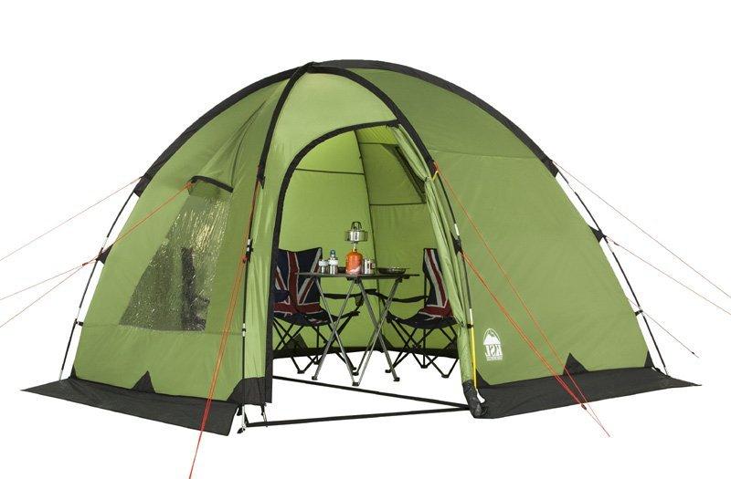 Палатка KSL Rover четырехместная зеленая
