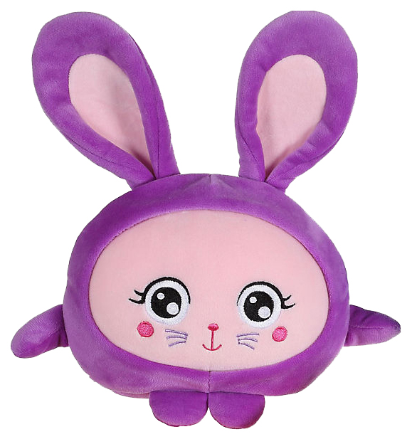 Купить Мягкая игрушка-антистресс 1Toy Squishimals Фиолетовый зайка 20 см, 1 TOY, Мягкие игрушки антистресс