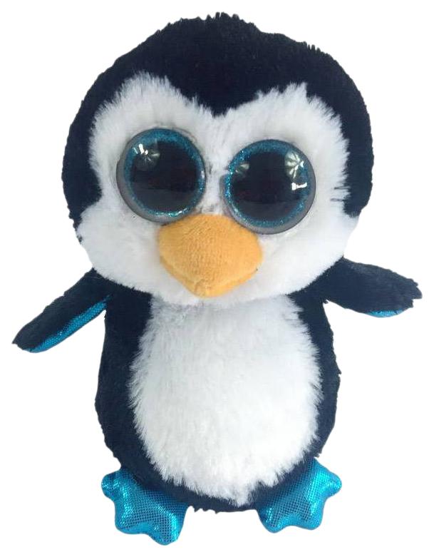 Купить Мягкая игрушка ABtoys Пингвин черный 15 см, Мягкие игрушки птицы
