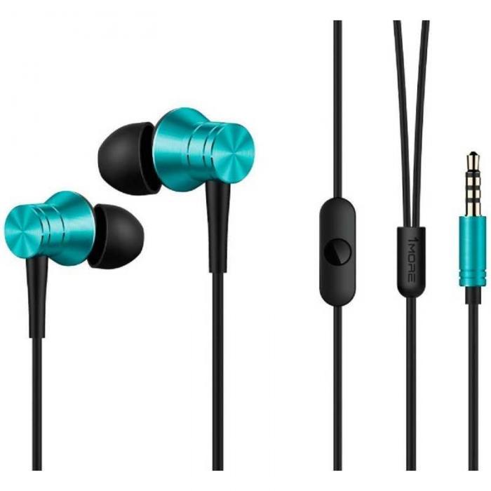 Наушники 1More Piston Fit In-Ear Headphones E1009 Black/Blue фото